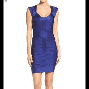 French Connection Royal Blue Bandage Dress Sz 0